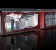 Roskakalakontti - säiliö / container